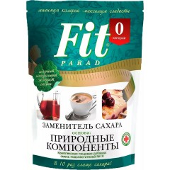 "Смесь пищевая сладкая ""ФитПарад №10"" (зам.сахара на основе эритрита) 150гр.Дойпак 1/9"