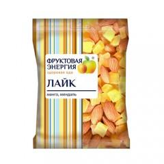 """Смесь фруктово-ореховая миндаль, манго """"Лайк"""" 45г. 1/24"""
