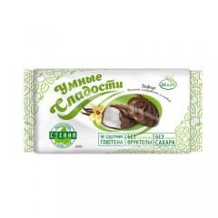 Зефир «Умные сладости» ванильный, глазированный, со стевией 60г