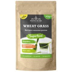 Витграсс Премиум, молотые ростки, (Wheat Grass Premium sprouts milled) П22, крафт дойпак 50 г