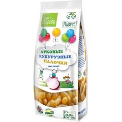 Кукурузные палочки «Ешь здорОво» луковые соленые, 80г