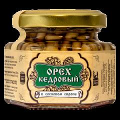 Ядро кедрового ореха в сосновом сиропе 110 г Сибирский Знахарь шт