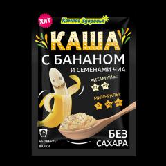 """""""Каша овсяная с бананом и семенами чиа пак.30 г"""