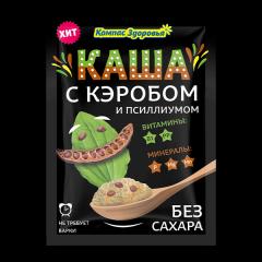 """""""Каша овсяная с кэробом и псиллиумом пак.27 г"""