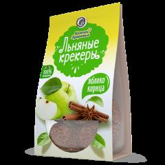 Крекеры льняные с шоколадной глазурью 50 г