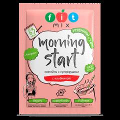 Fit Mix Коктейль льняной с клубникой 20 г (Morning Start)