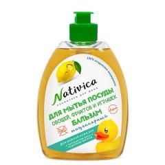 """Nativica мицеллярный бальзам для мытья посуды """"Для нежной кожи рук"""" 400 мл"""