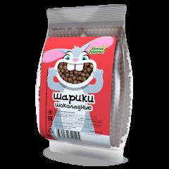 """Завтраки сухие """"Шарики шоколадные"""" (пакет) 100 г"""