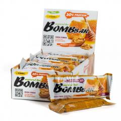 BOMBBAR протеиновый батончик 60 гр (грецкий орех с медом) шт