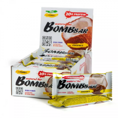 BOMBBAR протеиновый батончик 60 гр (кокос) шт