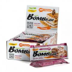 BOMBBAR протеиновый батончик 60 гр (тирамису) шт