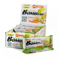 BOMBBAR протеиновый батончик 60 гр (фисташковый пломбир) шт