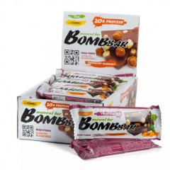 BOMBBAR протеиновый батончик 60 гр (шоколад с фундуком) шт
