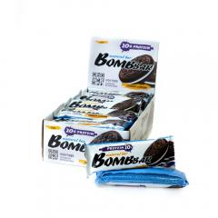 Батончик BOMBBAR протейновый 60гр.Печенье-крем 1/20