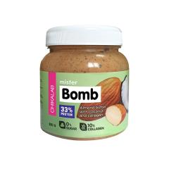 Паста миндальная с кокосом Mister Bomb 250гр.1/12