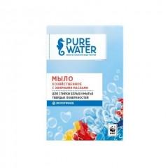 Мыло хозяйственное Pure Water с эфирными маслами (175г)