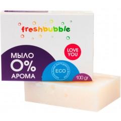 Мыло хозяйственное FreshBubble Без аромата (100г)